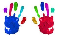Handprints Stock Images