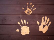 A Handprints Royalty Free Stock Image