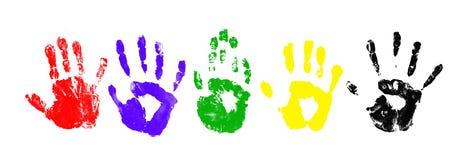 handprints Fotografering för Bildbyråer