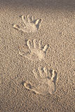 Handprints. Стоковое Изображение