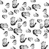 Handprints royalty ilustracja
