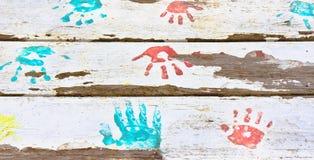 Handprints Стоковая Фотография RF