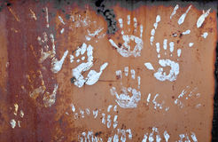 Handprints Stock Images