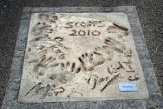 Handprints von  Stockfoto