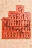 Handprints wives Maharaja of Jodhpur, Mehrangarh Fort. India Royalty Free Stock Photo