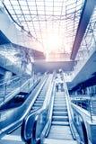 Handrail elevator Royalty Free Stock Image