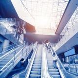 Handrail elevator Stock Image