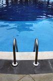 Handrail ladder pool royalty free stock photography
