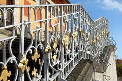 Handrail - Pillnitz Castle in Dresden, Germany Royalty Free Stock Photography