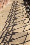 Handrail shadow Stock Image