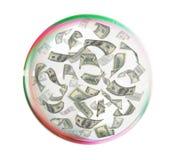Handreds nella grande bolla Immagini Stock Libere da Diritti