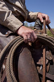 HandRope Stock Photo