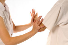 The hands Stock Image