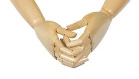 Hands. Thinking, debating Royalty Free Stock Photography