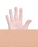 Hands action isolated Royalty Free Stock Images