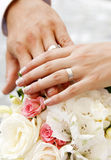 Hands And Rings Royalty Free Stock Photo