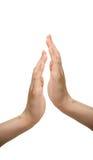 Hands applauding Stock Photo