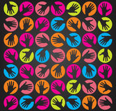 Hands background concept Royalty Free Stock Photography