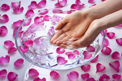 Spa Hands Beauty Treatment Stock Photos