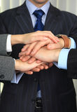 Hands of business people. Stock Photography