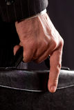 The hands of a businessman Royalty Free Stock Images