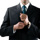 Hands of businessman Stock Images