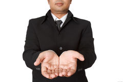 hands of businessman Stock Image