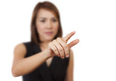 Hands of businesswoman royalty free stock photos