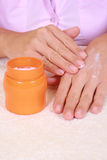 Hands care Royalty Free Stock Image