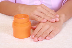 Hands care Royalty Free Stock Images