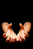 Hands catching Royalty Free Stock Photos