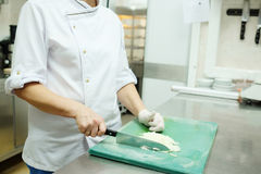 Hands of the chef's Royalty Free Stock Images