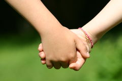 Hands of child Royalty Free Stock Images