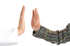 Hands clapping Royalty Free Stock Image