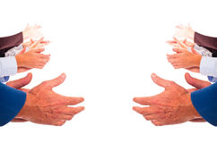 Hands Clapping Royalty Free Stock Photos