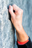 Hands climbing Stock Images