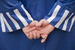 Hands of a clown Royalty Free Stock Image