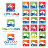 Hands - a collection of logo templates. Royalty Free Stock Photography
