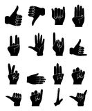 Hands Collection Stock Images