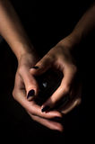 Hands Crystal Ball Royalty Free Stock Image