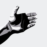 Hands design, vector illustration. Stock Photo