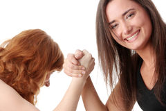 Hands fight Stock Images