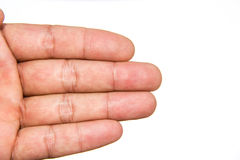 Hands, fingers Royalty Free Stock Images