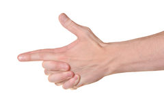 Hands gesture Royalty Free Stock Photography