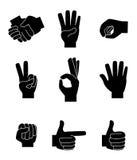 Hands gesture Stock Photography