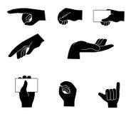 Hands gesture Stock Photo