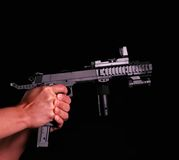 Hands with gun Royalty Free Stock Images
