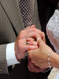 Hands in Hands Stock Photos
