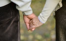 Hands held together Royalty Free Stock Photography