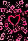 hands hjärta Royaltyfri Bild